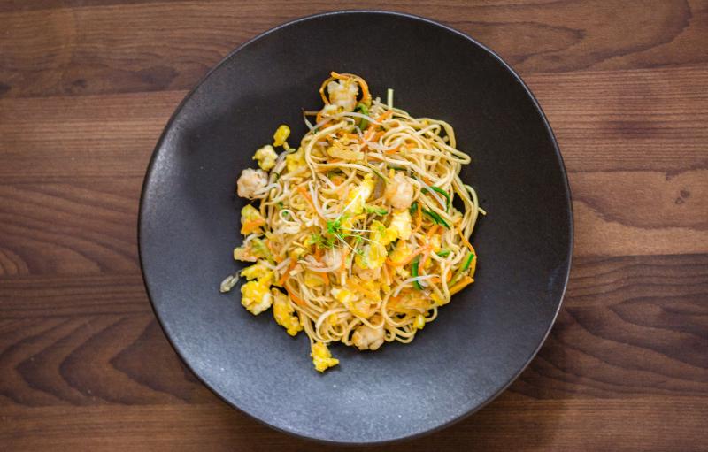 Ricetta Ramen Ai Gamberi.Noodles Con Gamberi Verdure E Zenzero Sedanoallegro