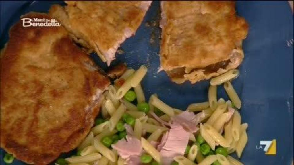 Cordon Bleu E Pasta Con Piselli E Prosciutto Sedanoallegro