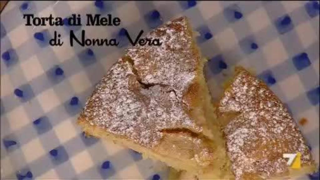 Torta Di Mele Di Nonna Vera Sedanoallegro