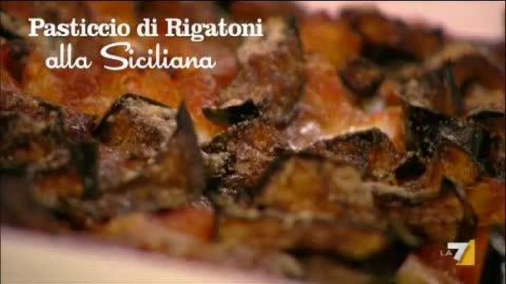Pasticcio Di Rigatoni Alla Siciliana Sedanoallegro