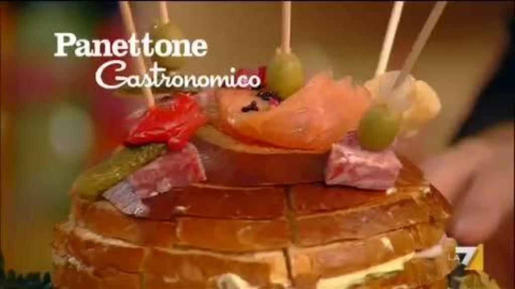 Stella Di Natale Di Benedetta Parodi.Panettone Gastronomico